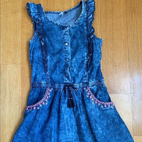 3Pommes Girls Denim Dress size 5/6